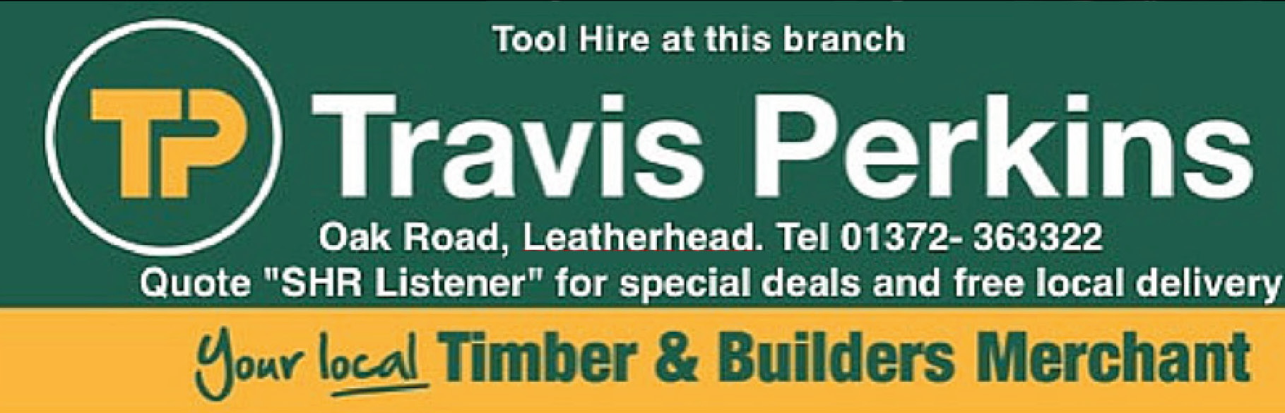 Club Culture sponsored by Travis Perkins, Leatherhead